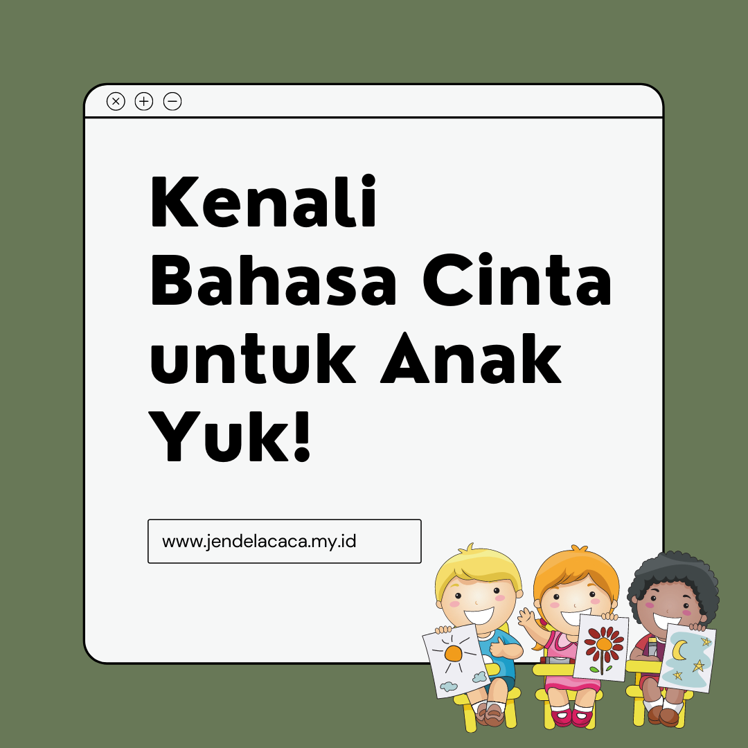 bahasa cinta untuk anak