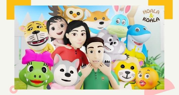 lagu dan animasi anak hoala dan koala
