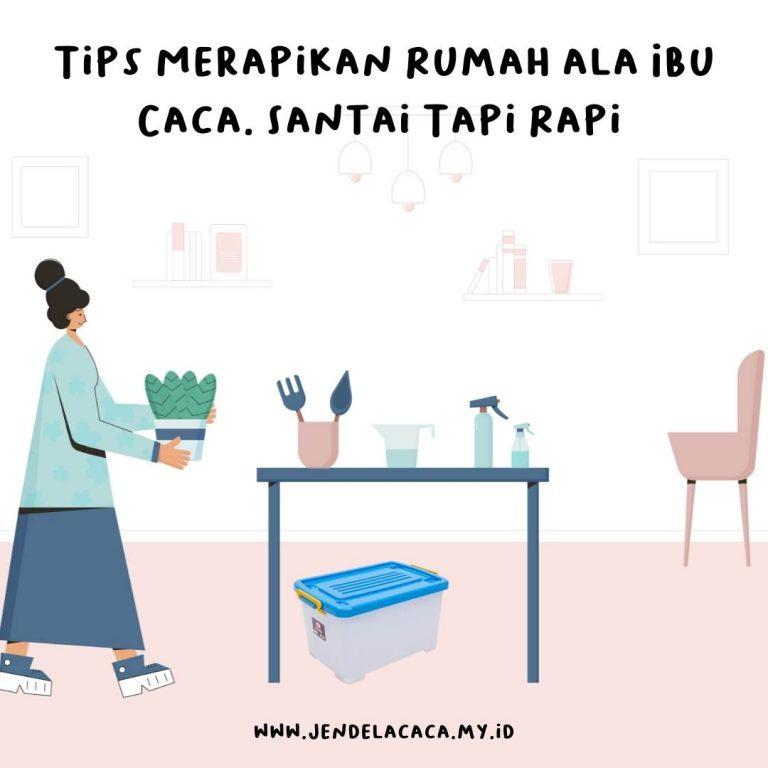 tips merapikan rumah